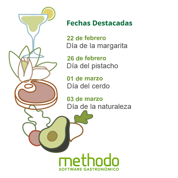 calendario gastronomico febrero