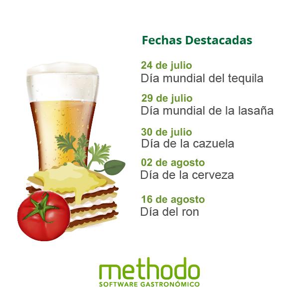 calendario gastronomico julio agosto chile