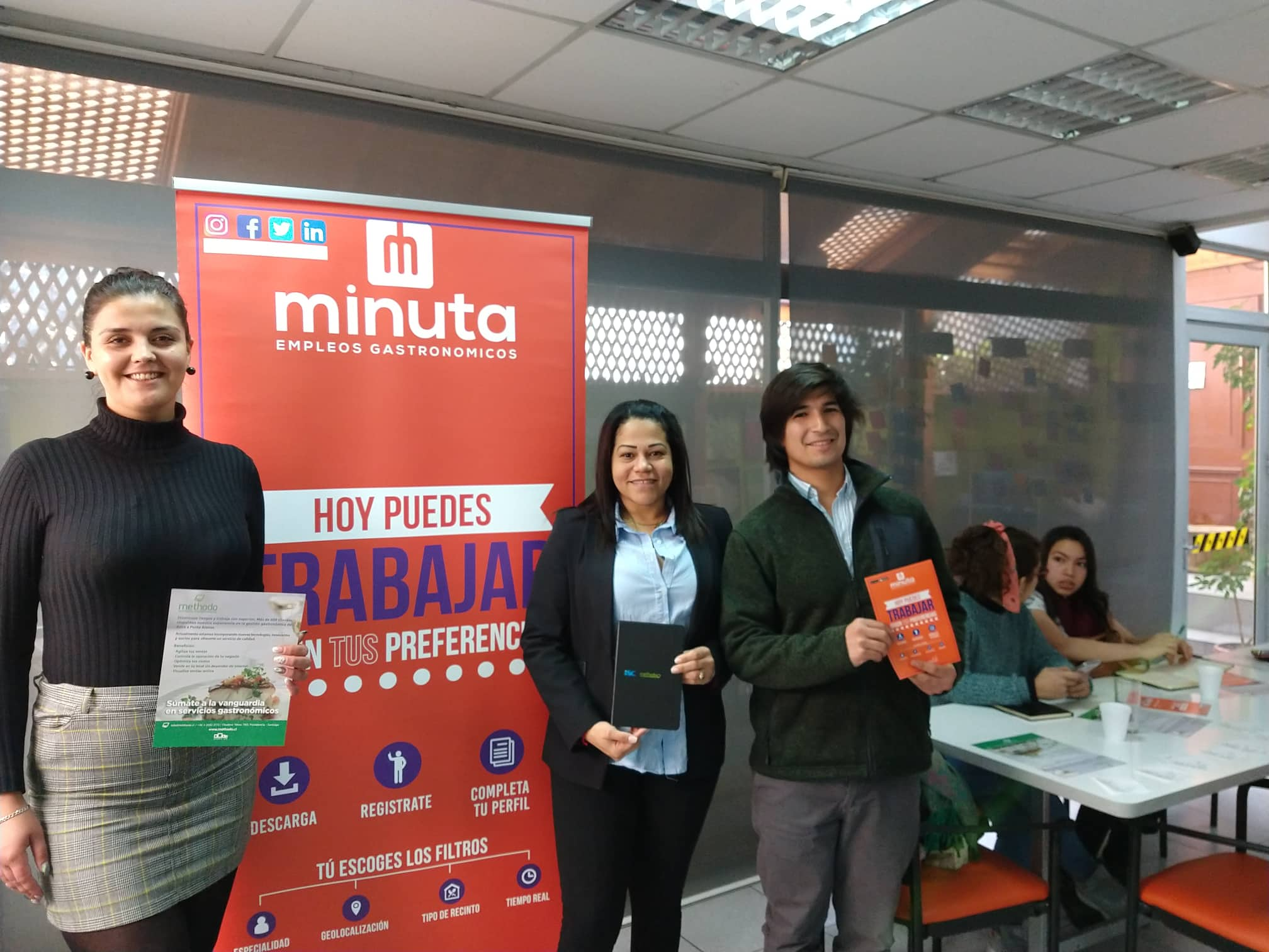 equipo profesional minuta app methodo